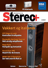Stereo Plus magazine front cover